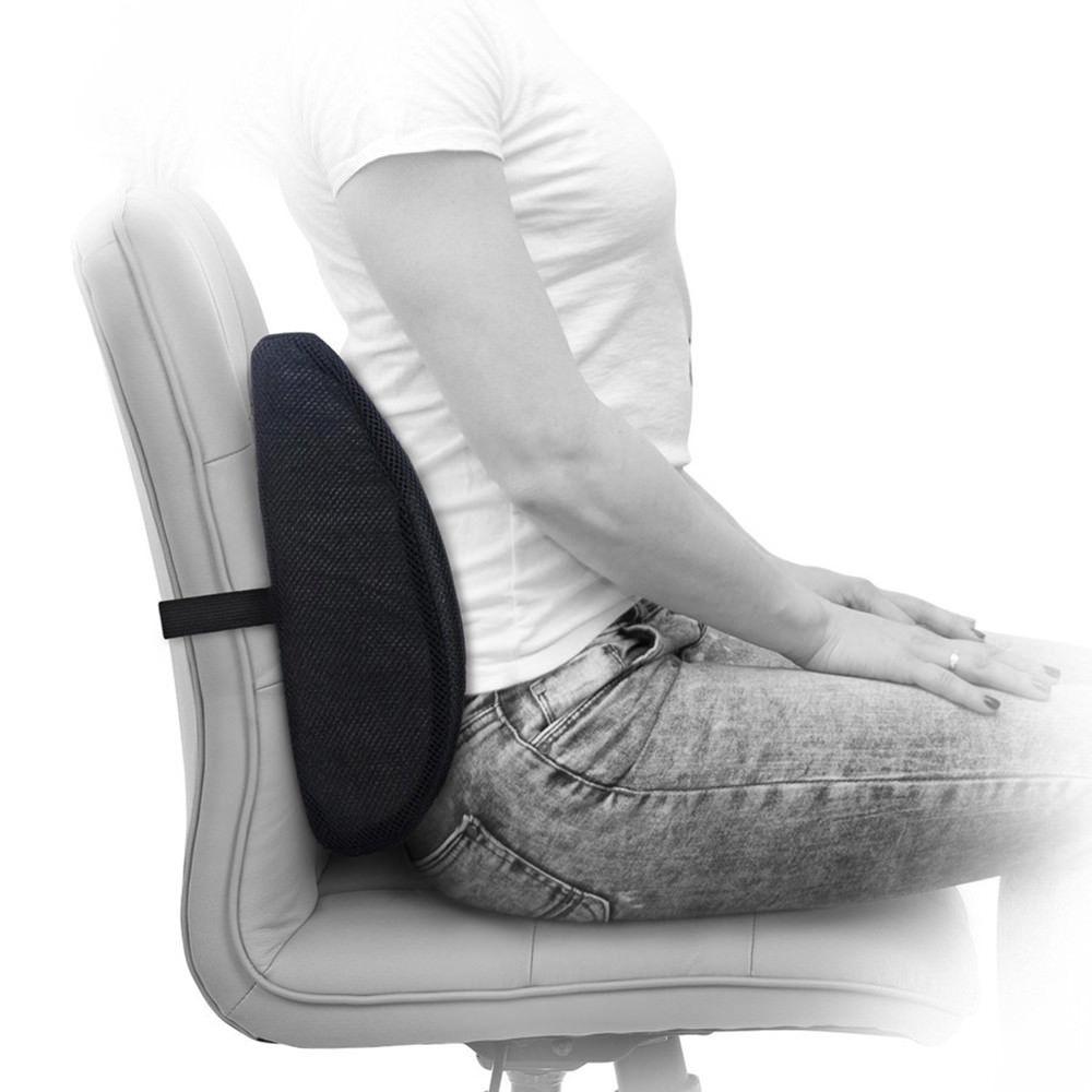 Cuscino Per Postura.Cuscino Lombare Ergonomico Correttore Di Postura Sedia Poltrona Postura Ufficio Casa