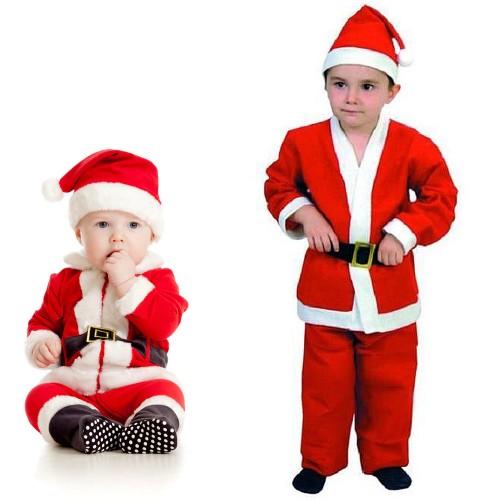 Costume Babbo Natale.Costume Babbo Natale Bimbo