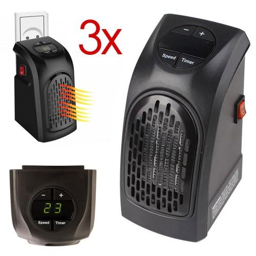 3x stufa elettrica portatile con temperatura regolabile da for Handy heater stufa