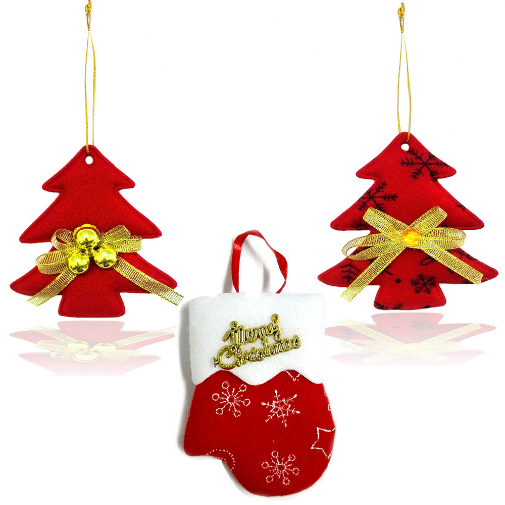 Addobbi Natalizi Napoli.Addobbi Natalizi Imbottiti 10 Pezzi Albero Natale Guanto