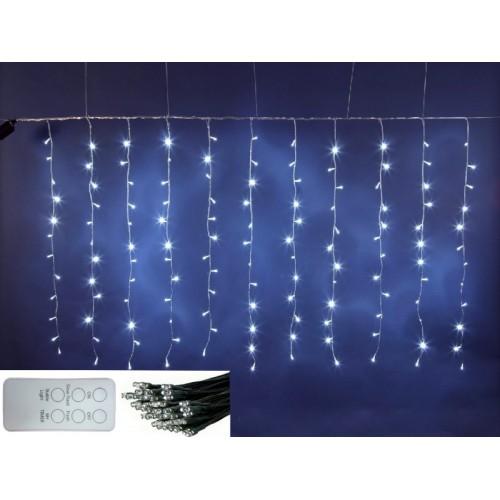 Luci led decorazione natale minilucciole 100 led for Luci tubolari a led