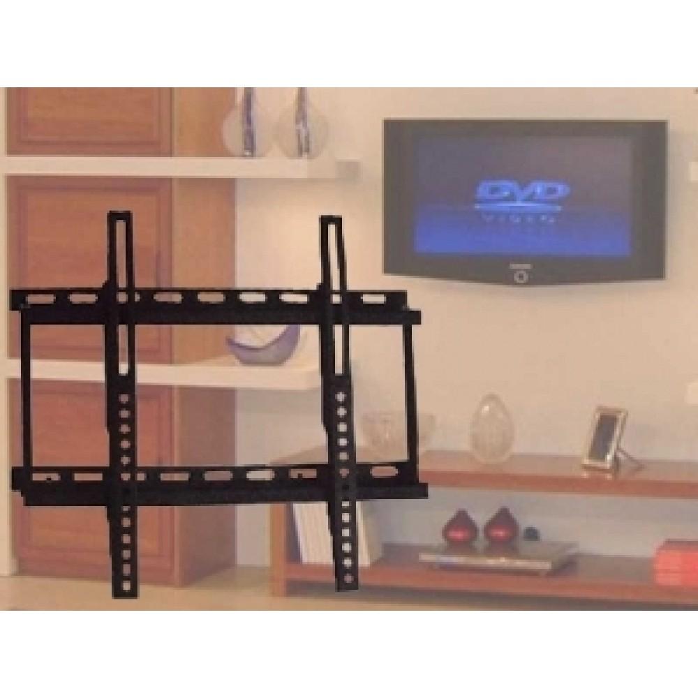 Porta Tv Lcd Da Muro.Supporto Porta Tv Lcd Fisso Da Muro Asta Da 19
