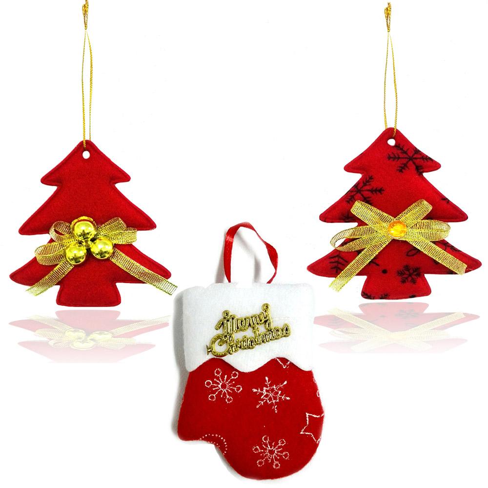 Addobbi natalizi a forma di albero e guanto 10 pezzi misti natale ebay - Addobbi natale cucina ...