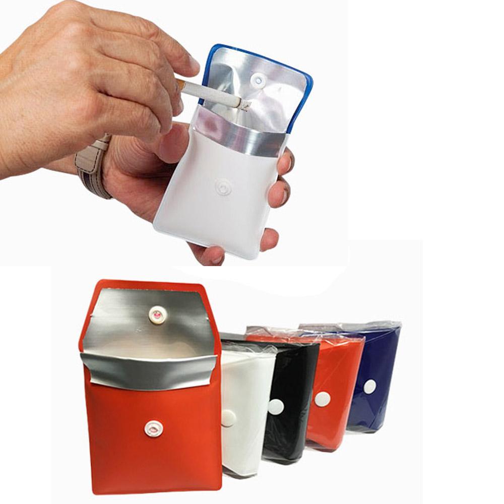 Akozon Posacenere per sigarette Portacenere portatile a LED per auto Posacenere per sigarette per auto Posacenere per portacenere con luce a LED blu
