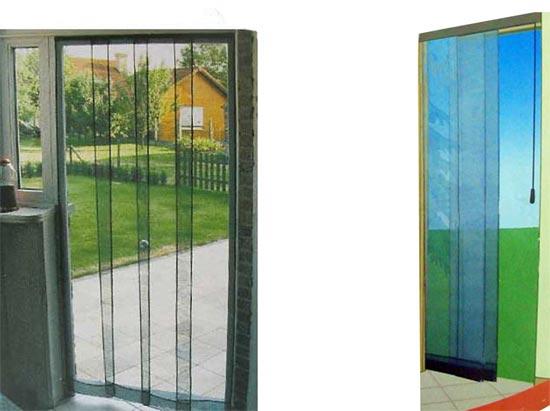 Tenda zanzariera per finestra porte 4 pannelli scorrevoli 100x220cm ebay - Misure porta finestra ...