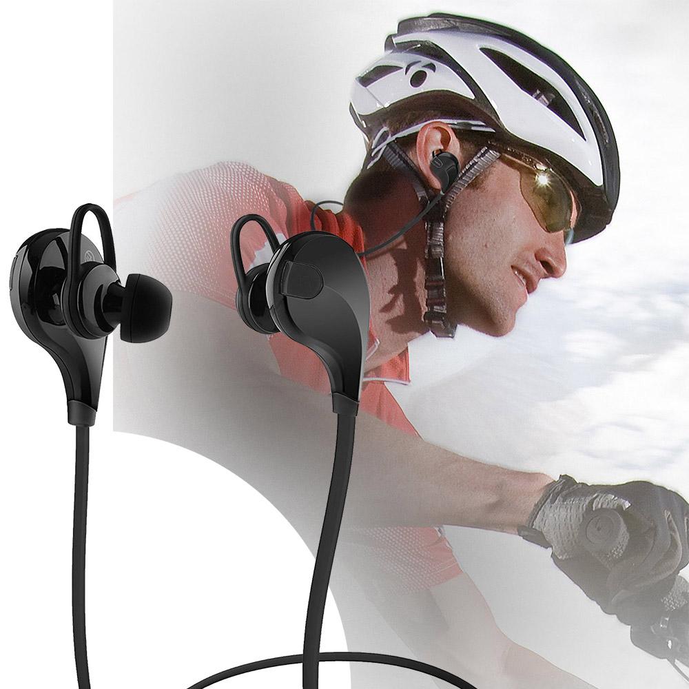 Cuffie auricolari per lo sport hd bluetooth 4 0 qy7 fitness jogging ebay - Cuffie per sport ...