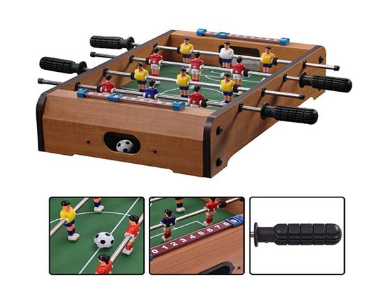 Mini calcetto tavolo calcio balilla legno biliardino gioco bambino 51x31 cm 3014 ebay - Tavolo calcio balilla decathlon ...