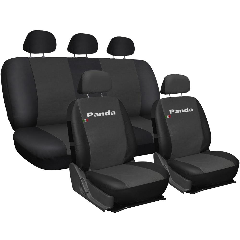 Fiat Panda II Classic ab 03 5-Sitze Sitzbezüge Schonbezüge Schonbezug Autositz