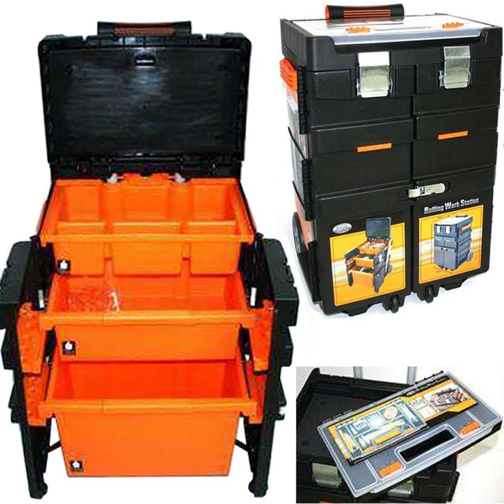 Cassetta porta attrezzi trolley valigia per utensili - Trolley porta attrezzi ...