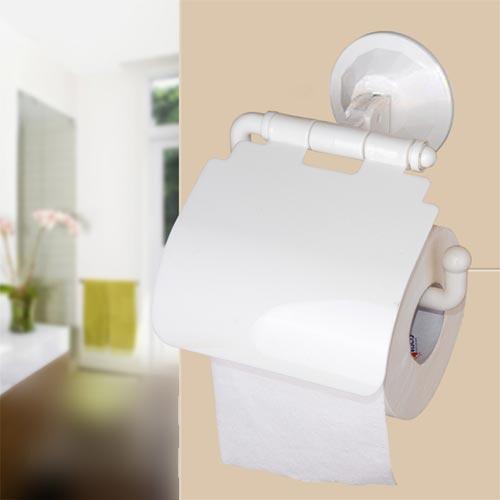 Base porta rotolo carta igienica a ventosa senza bucare le pareti ebay - Bucare piastrelle bagno ...