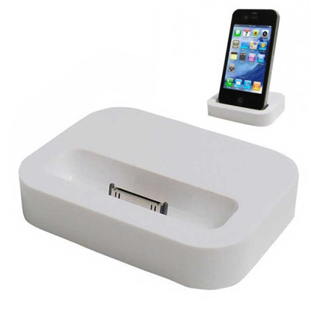 dock station per iphone 4 4s caricabatteria da tavolo smartphone ebay. Black Bedroom Furniture Sets. Home Design Ideas