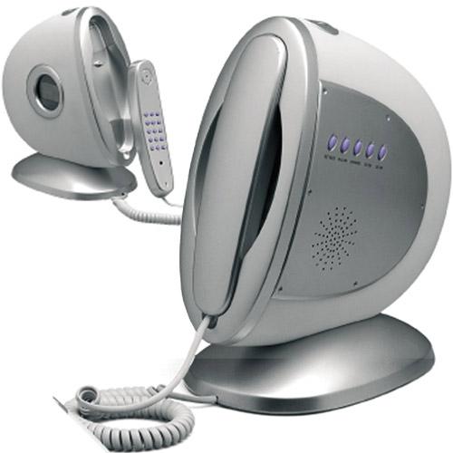 Telefono fisso con sveglia orologio lampada lupex ebay - Telefono fisso design ...