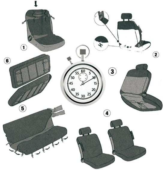 fiat panda natural power 2farbige sitzbez ge einteilige r cksitze tarnfarbe ebay. Black Bedroom Furniture Sets. Home Design Ideas