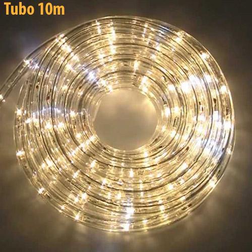 Tubo Luminoso 10mt Bianco